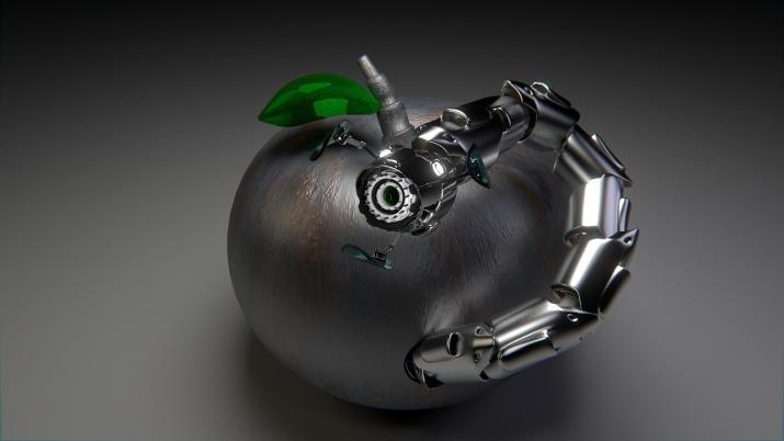 Robot Worm Apple Graphic Trojan Computer Graphics